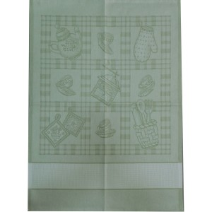 Kitchen Towel Coffee - Green