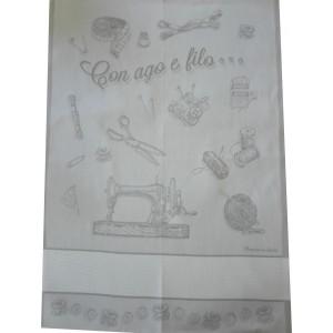 Strofinaccio Cucina Ago e Filo  - Grigio