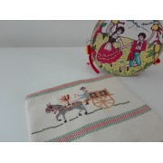 Kitchen Towel - Sicilian Cart