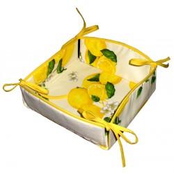 Bread Basket Rady to Cross Stitch - Lemon Series