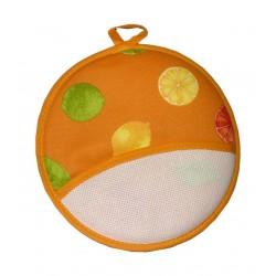Round Poth Holder - Citrus