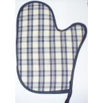 Oven Glove to Cross Stitch - Blue