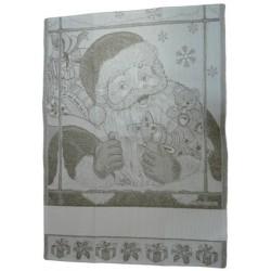 Strofinaccio Natalizio - Santa Claus