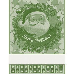 DMC - Asciugapiatti Natalizio - Babbo Natale - Verde