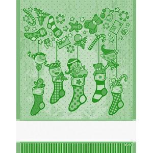 DMC - Asciugapiatti Natalizio - Elfi - Verde