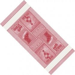 DMC - Striscia Natalizia - Retro - Rosso
