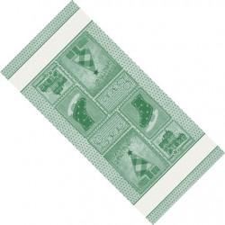 DMC - Striscia Natalizia - Retro - Verde