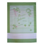 Fratelli Graziano - Kitchen Towel - Good Luck - Color Green