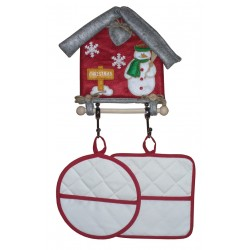 Hang Potholders - Christmas House