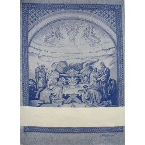 Fratelli Graziano - Asciugapiatti Natività - Colore Blu