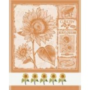 DMC - Dish Cloth Sunflowers - Orange