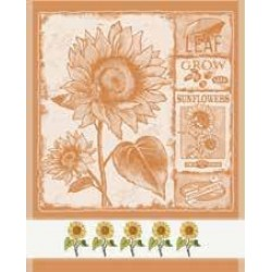 DMC - Dish Cloth Sunflowers - Orange