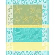DMC - Deco Home 2012 - Dishtowel Starfish and Shells