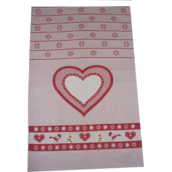 Fratelli Graziano -  Kitchen Towel with Christmas Design and Heart