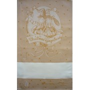 Fratelli Graziano - Christmas Dish Towel - Gingerbread - Honey Color