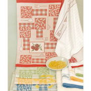 Fratelli Graziano - Pasta Kitchen Towel with Aida Insert