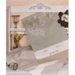 Fratelli Graziano - Kitchen Towel with Grape Design