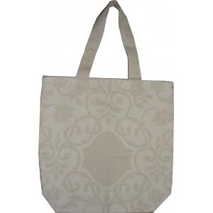 Bolsa para Compras Lino y Algodon - Crema