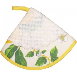 Lemon Moka Potholder Ready to Stitch