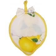 Lemon Potholder Ready to Stitch