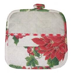 Stitchable Christmas Potholder