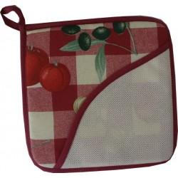 Agarrador Cuadrado Rojo - Tomato
