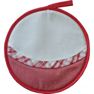 Agarradera Redonda - Color Rojo
