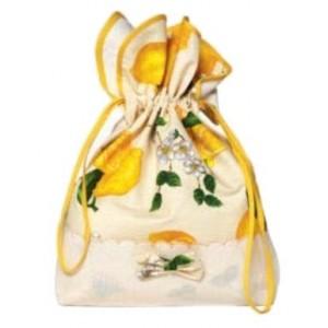 Sacchetto Portapane - Fantasia Limoni