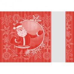 DMC Ready to Stitch Placemat - Santa Claus
