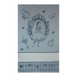 Fratelli Graziano - Asciugapiatti Favole Alice - Colore Carta da Zucchero