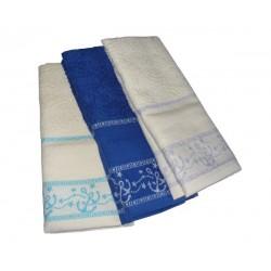 Set Terry Dish Towels Viviana - Marine - Blue
