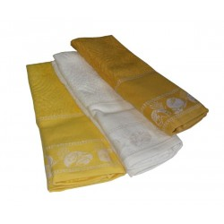 Set Terry Dish Towels Viviana - Bread - Yellow