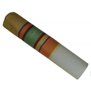 Mantel Cuadrado para Bordar a Punto de Cruz - Color Naranja - Manuela
