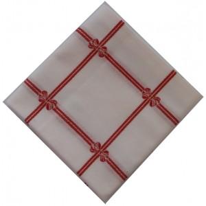 Mantel  de Mesa para Navidad - Lazos Rojos