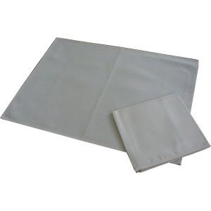Mantel Individual con Servilleta Nepal - Crema