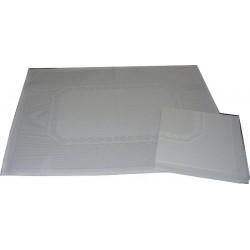 Placemat with Napkin Isabel - White