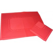 Placemat with Napkin Isabel - Red