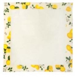 Tea Tablecloth - Lemon Series