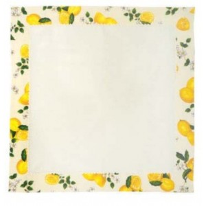 Tea Tablecloth - Lemon Series