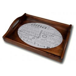 DMC Home Forever Collection - Oval Wooden Tray