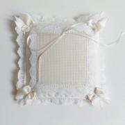 Stafil - Stitchable Wedding Pillow - Color Cream