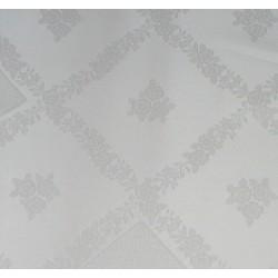 Tessuto Rosina con Inserti Aida Ricamabile - Altezza 315 cm