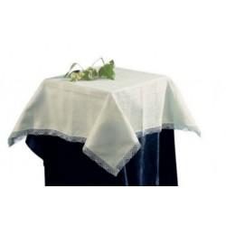 Tea Tablecloth Malaga Ecru - 100x100 cm