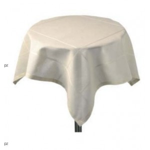 Stitchable Tea Tablecloth - 85x85 cm