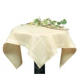 Tovaglietta da Tè Ricamabile Malmo  - 85x85 cm