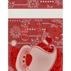 DMC - Santa Claus Placemat - Red - RS2576