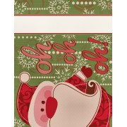 DMC - Santa Claus Placemat - Green - RS2576