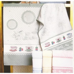 Fratelli Graziano - Kitchen Towel - Macaron - Color Cream