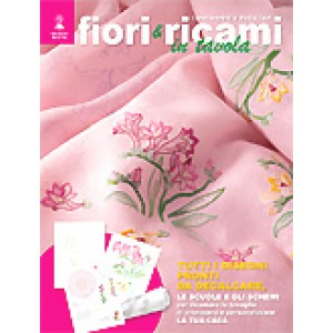 Mani di Fata Magazine - Flowers and Embroidery for Your Table