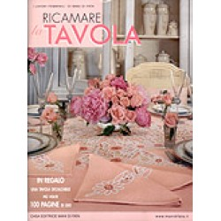 Mani di Fata Magazine - Embroidered Table